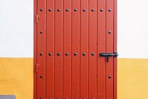 a very spanish door