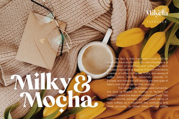 Mikela - 50% OFF Gorgeous Typefaces in Serif Fonts - product preview 36