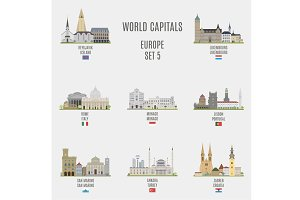 World capitals. Europe # 5