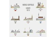 World capitals. Europe # 6