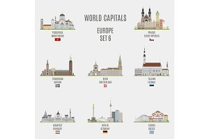 World capitals. Europe # 6