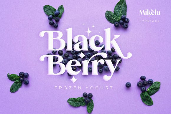 Mikela - 50% OFF Gorgeous Typefaces in Serif Fonts - product preview 38