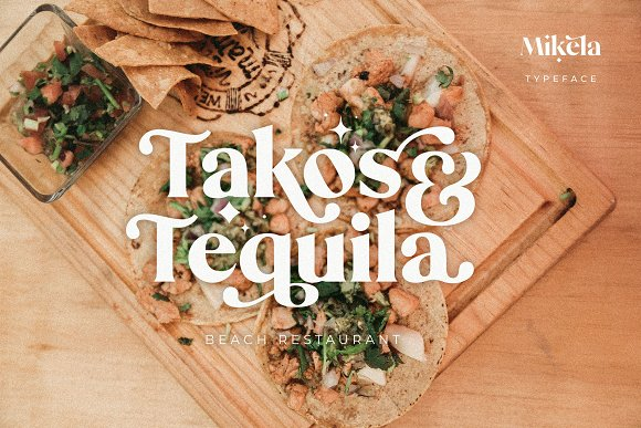 Mikela - 50% OFF Gorgeous Typefaces in Serif Fonts - product preview 39