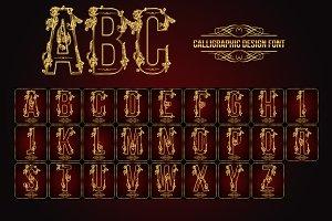 Calligraphic Design Font