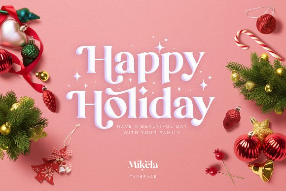 Mikela - 50% OFF Gorgeous Typefaces in Serif Fonts - product preview 40