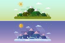 Summer & Winter Landscapes