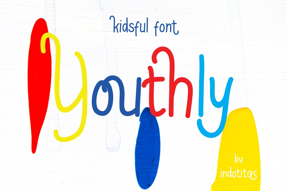Youthly in Sans-Serif Fonts - product preview 8