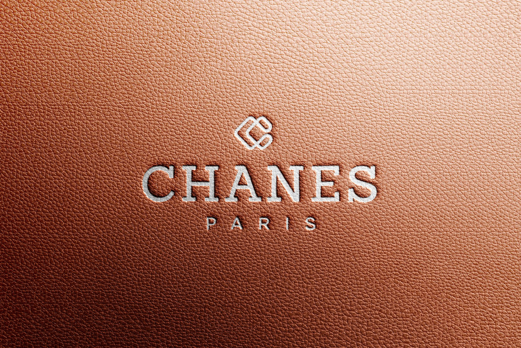 logo mockup luxury leather creative photoshop templates creative market logo mockup luxury leather creative