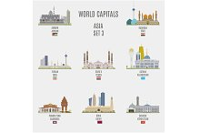 World capitals. Asia  # 3