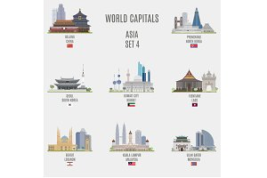 World capitals. Asia  # 4