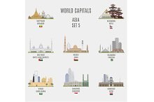 World capitals. Asia  # 5