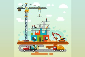 Construction illustration