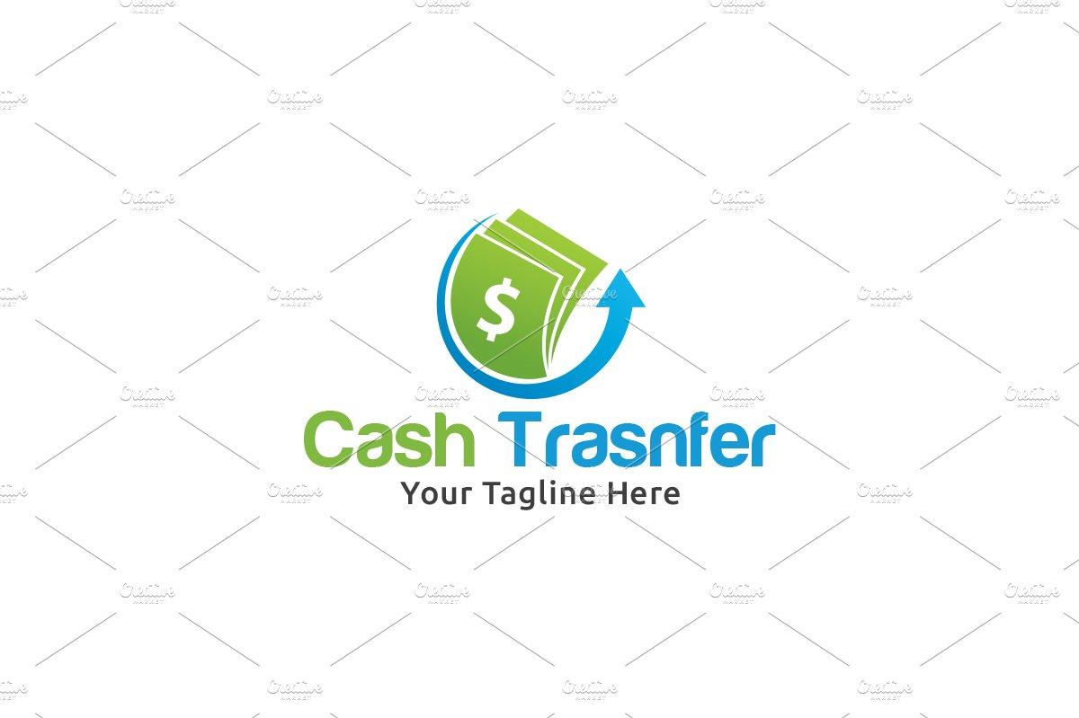 money transfer logo logo templates creative market