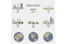World capitals. America  # 1