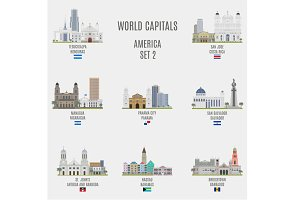 World capitals. America  # 2