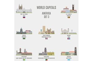 World capitals. America  # 3