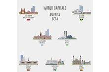 World capitals. America  # 4