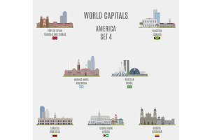 World capitals. America  # 4