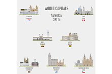 World capitals. America  # 5
