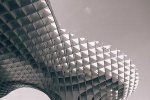 monochrome lines - metropol parasol