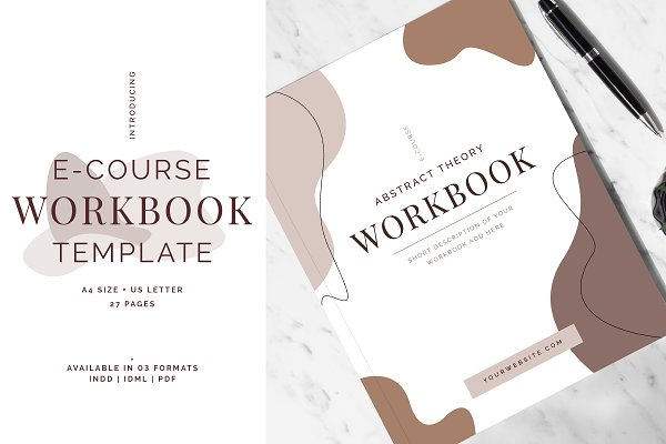 E-Course Workbook Template