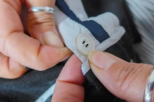 sewing hands