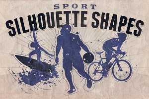 Silhouette shapes - Sport