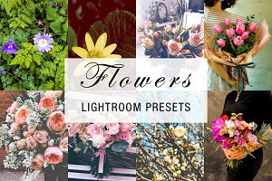 flower lightroom preset