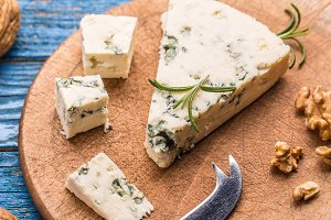 Tasty blue cheese