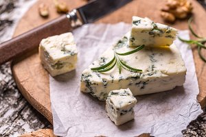 Gorgonzola soft cheese
