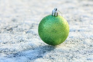 Christmas ornament ball