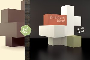 Abstract business composition