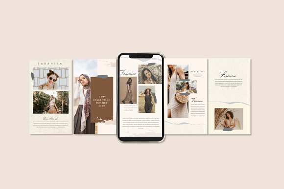 Faranisa - Instagram Feed and Story in Instagram Templates - product preview 3