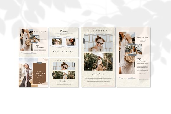 Faranisa - Instagram Feed and Story in Instagram Templates - product preview 4