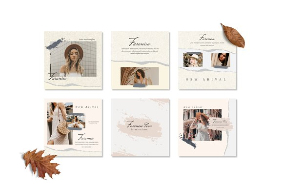 Faranisa - Instagram Feed and Story in Instagram Templates - product preview 6