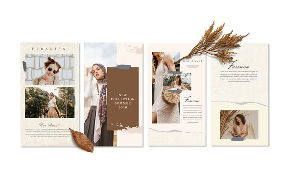 Faranisa - Instagram Feed and Story in Instagram Templates - product preview 7