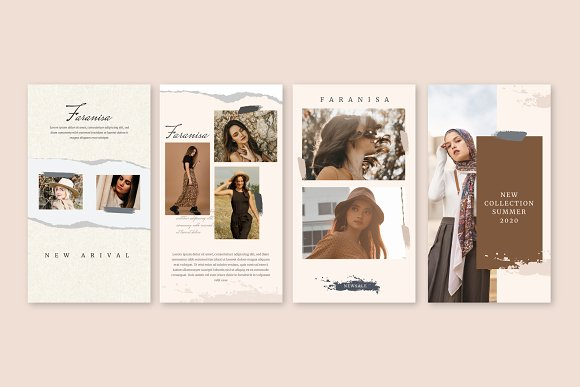 Faranisa - Instagram Feed and Story in Instagram Templates - product preview 9