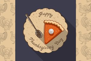 Thanksgiving Day illustration