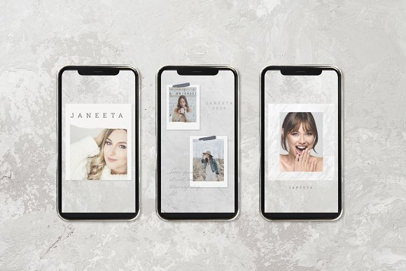 JANEETA - Social Media Template in Instagram Templates - product preview 1