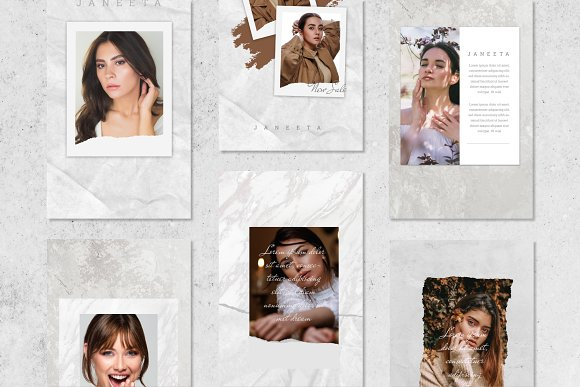 JANEETA - Social Media Template in Instagram Templates - product preview 3
