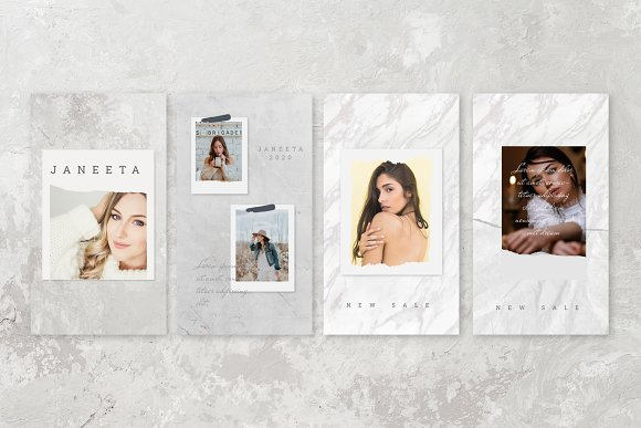 JANEETA - Social Media Template in Instagram Templates - product preview 4