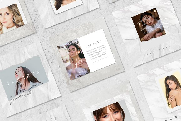 JANEETA - Social Media Template in Instagram Templates - product preview 7