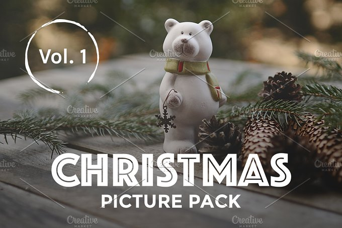 Christmas Picture Pack Vol. 1 - Holidays