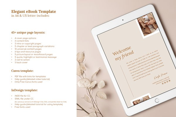 eBook / CANVA, INDD / Elegant