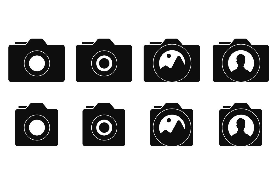 Camera Icons Icons Creative Market