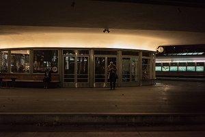 Station at Night