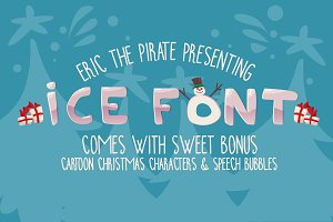 Ice Cartoon Font