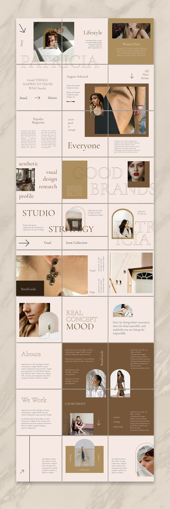 Sureeal Puzzle Instagram Feed in Instagram Templates - product preview 1