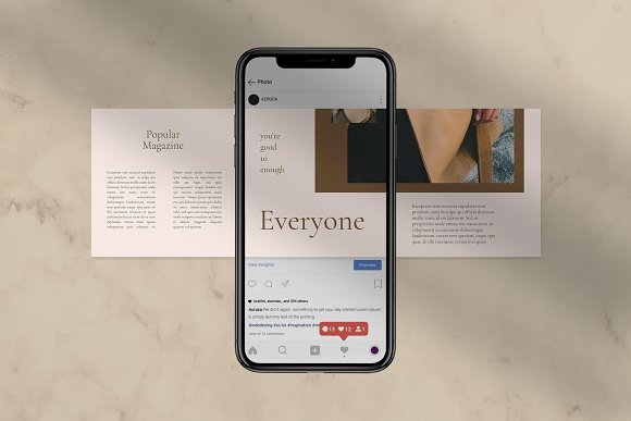 Sureeal Puzzle Instagram Feed in Instagram Templates - product preview 3