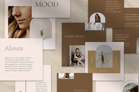 Sureeal Puzzle Instagram Feed in Instagram Templates - product preview 5